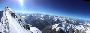 From the summit of Nun