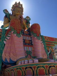 Maitreya Buddha at the Diskit Monastery in the Zanskar Valley
